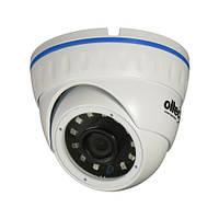 Oltec HDA-920D - уличная видеокамера в купольном антивандальном корпусе, разрешение 2Мп