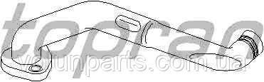 Патрубок вентиляции блока цилиндров Audi A4/A6, Passat B5