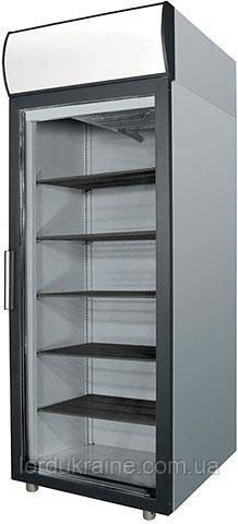 Холодильный шкаф-витрина DM 107-G Polair (нержавеющая сталь)