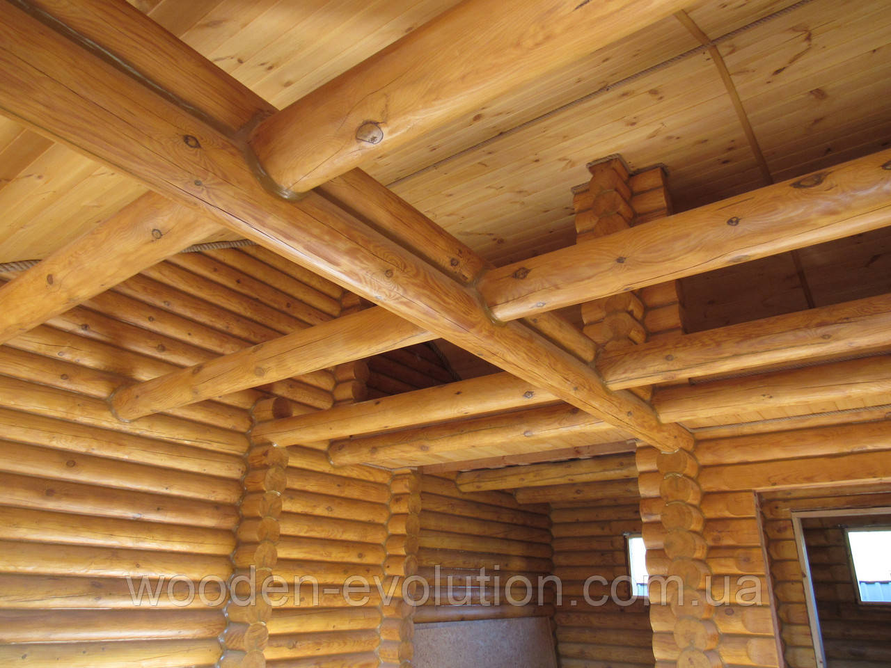 Внутрішня обробка дерев'яного будинку/зрубу
