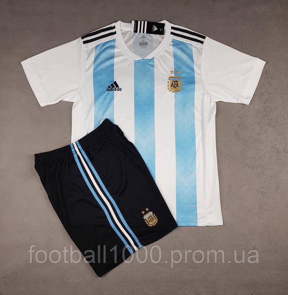 Футбольная форма сборной Аргентины домашняя 2018-20