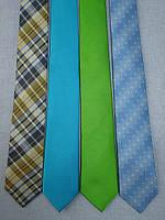 Модный узкий галстук