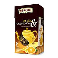 Чай черный Big - Active Herbata айва с апельсином, 100 гр Польша
