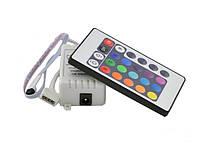 RGB пульт 24 кнопки контроллер controller для управления светодиодными RGB и др. Хорошее качество. Код: КГ3599