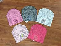 шапочка  вязанная  для девочки