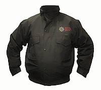 Водонепроницаемая куртка c флисовой подстежкой, черная. Великобритания, оригинал.