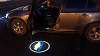 Подсветка логотипа авто на двери Chevrolet