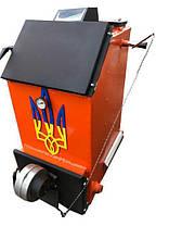 Твердотопливный котел шахтного типа Холмова УНК 18кВт c ТЭНом, фото 3