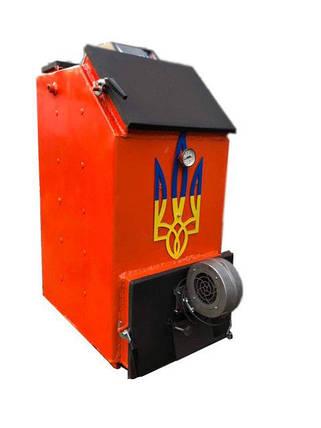 Твердотопливный котел шахтного типа Холмова УНК 18кВт c ТЭНом, фото 2