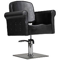 Парикмахерское кресло Miami черное