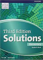 Solutions 3rd Edition Elementary Student's Book (Учебник)