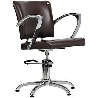 Парикмахерское кресло Palermo коричневое