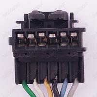 Разъем электрический 6-и контактный (29-14) б/у 7051