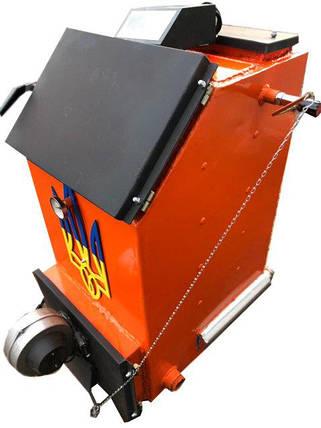 Твердотопливный котел шахтного типа Холмова УНК 20кВт c ТЭНом, фото 2