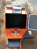Твердотопливный котел шахтного типа Холмова УНК 25кВт c ТЭНом, фото 2