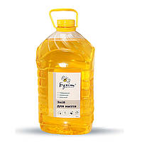 """Бесфосфатное, концентрированное  моющее средство для посуды """"Бджілка"""", Лимон, 5 л"""