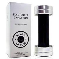 Тестер парфюмированной воды ОАЭ Davidoff Champion