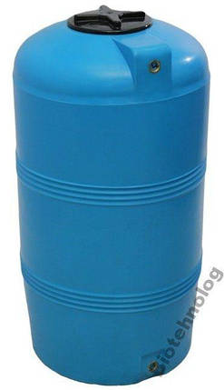 Бесплатная доставка. Бак, бочка, емкость 250 литров пищевая вертикальная 200 300 V, фото 2