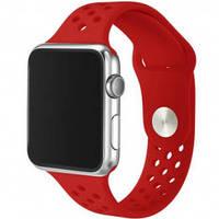 Ремешки для Apple Watch Honeycomb 42mm красный