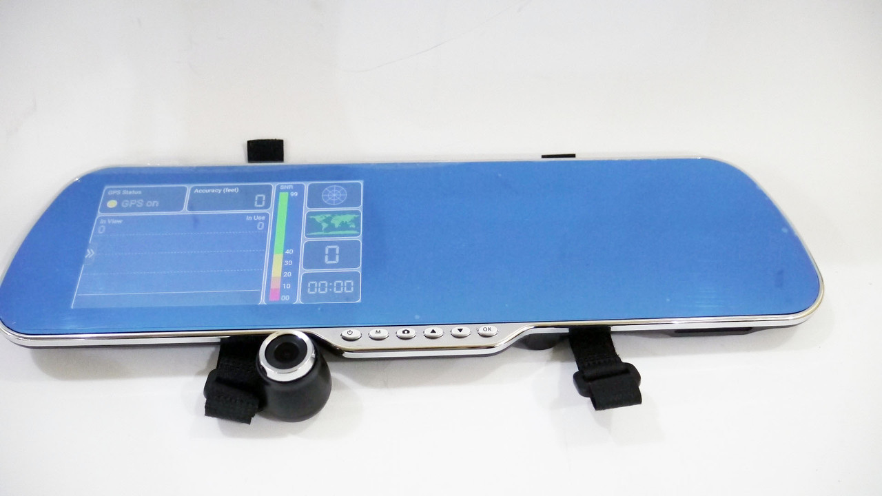 Зеркало регистратор X5 регулируемая камера + камера заднего вида WiFi GPS 16GB Android