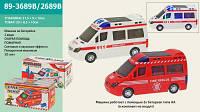 Машинка 89-3689B/2689B