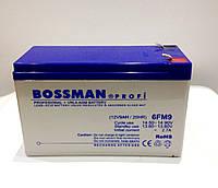 Аккумулятор 12V 9Ah Bossman profi 6FM9 - LA1290, фото 1