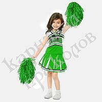 Помпоны POM POMS блестящие зеленые (уп. 2шт)