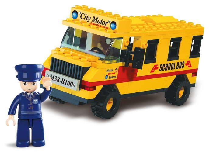 Конструктор Город, Малый школьный автобус