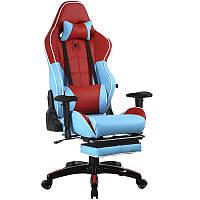 Кресло геймерское Barsky Spiderman Blue/Red SD-28
