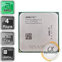 Процессор AMD FX 4100 (4×3.60GHz/8Mb/AM3+) б/у