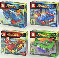 Конструктор SY серия Super Heroes SY189ABCD (аналог Lego Super Heroes