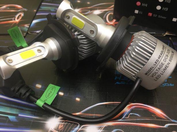 Ксенон LED Светодиодные лампы Н1/HB2/Н3/H4/Н7/Н8/Н9/Н11 Гарантия 1 год