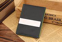 Кредитница с зажимом для денег Shield black-green