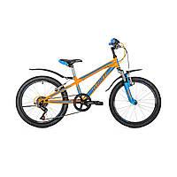 "Детский велосипед Avanti Super Boy V-brake 20"" оранжево-синий"