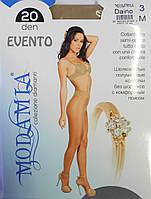 Колготки Modamia Evento 20 den (р-ры: 2, 3, 4, 5) купить оптом со склада