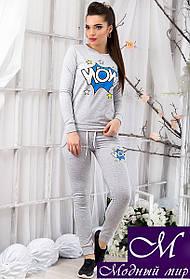 Женский спортивный костюм с принтом р. S, M, L арт. 12472