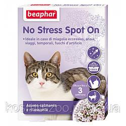 Beaphar No Stress Spot On Cat , антистресовые капли для кошек и котят, 3 пип