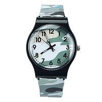 Детские кварцевые часы Хаки для мальчика