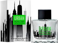 Мужская туалетная вода Antonio Banderas Urban Seduction In Black for Men 100 ml (Бандерас Урбан)