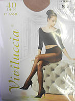 Колготки Viviluccia Classic 40 den (р-ры: 2, 3, 4, 5) купить оптом со склада