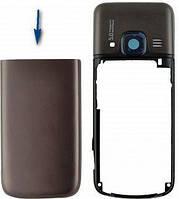 Nokia 6700 Нижняя задняя крышка  серебро
