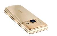 Nokia 6700 Нижняя задняя крышка  золото сталь