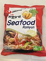 Лапша Рамен быстрого приготовлaения с морепродуктами Seafood Ramyun Nong Shim 125 г