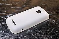 Nokia Asha 311 Силикон  полупрозрачный  арт 13009