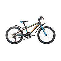 "Детский велосипед Avanti Turbo V-brake 20"" черно-оранжевый"