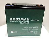 Аккумулятор 12V 20Ah Bossman-Master 6DZM20