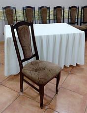 Чохол на Дерев'яний стілець з міцної легкої тканини з Хлястиком, фото 3