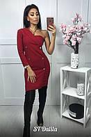 Женское платье - пиджак с одним рукавом, в моделях