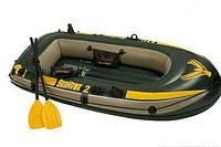 Intex Надувная лодка 68347 (2) Seahawk 2 Set, насос, весла, в кор-ке