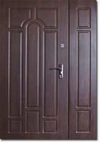 Двери полуторные Арка Уличная
